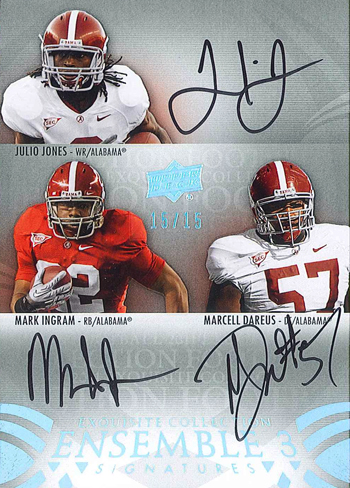 Julio-Jones-University-of-Alabama-Hard-Signed-Autograph-Upper-Deck-Exquisite-Ensemble-Ingram-Card