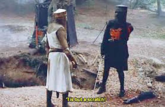 Toughness-Monty-Python-Black-Knight-Tis-But-A-Scratch