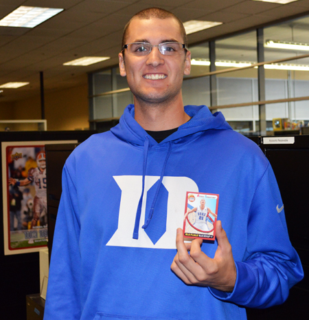 2013-Upper-Deck-CLC-College-Colors-Day-Celebration-Christian-Jensen-Accounts-Payable-Duke