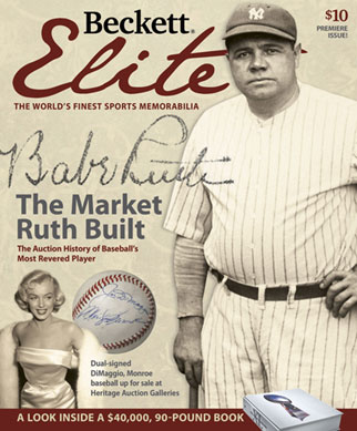 Beckett-Elite-Price-Guide-Memorabilia-Value-Worth