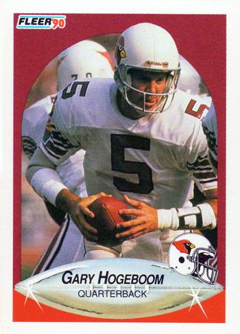 Collecting-Survivor-Gary-Hogeboom-1990-Fleer-Retro-Football-Arizona-Cardinals