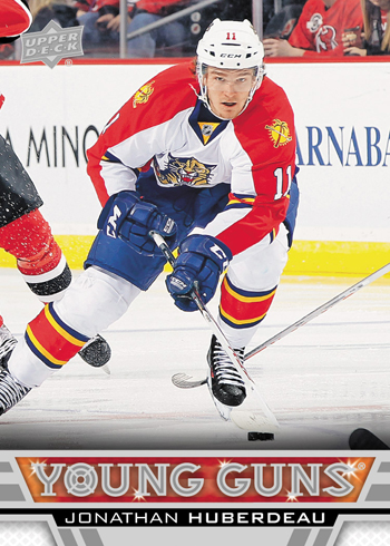2013-14-NHL-Upper-Deck-Series-One-Young-Guns-Rookie-Card-Johnathan-Huberdeau-Florida-Panthers