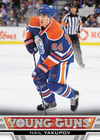 2013-14-NHL-Upper-Deck-Series-One-Young-Guns-Rookie-Card-Nail-Yakupov-Edmonton-Oilers