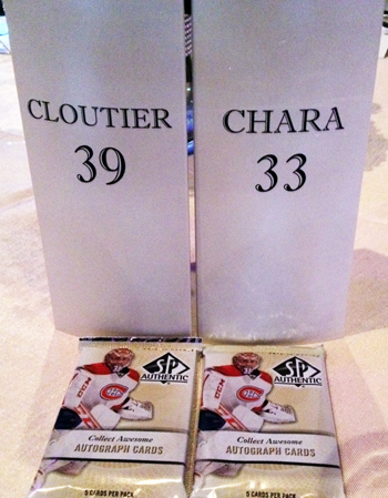 Cloutsnchara-Wedding-Upper-Deck-SP-Authentic-Hockey-Packs-3