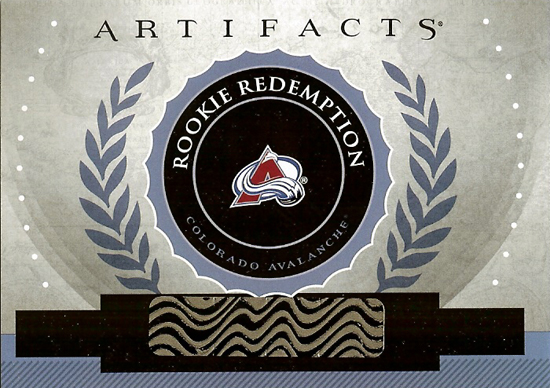 First-Look-2013-14-NHL-Upper-Deck-Artifacts-Rookie-Redemption-Colorado-Avalanche