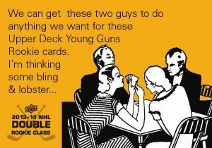 2013-14-NHL-Upper-Deck-Series-One-E-Card-Bad-Ladies