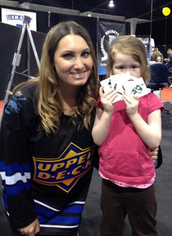 2013-NHL-Fall-Expo-Toronto-Upper-Deck-Booth-Kids-Children-Marketing-1