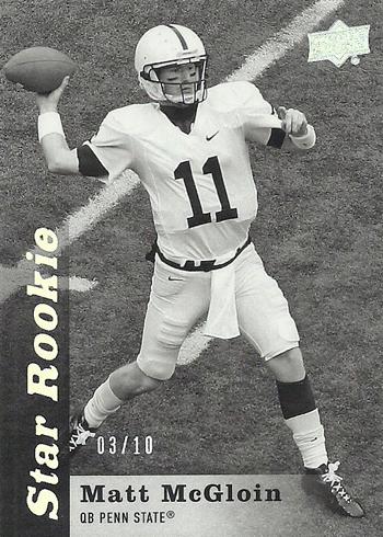 2013-Upper-Deck-Football-Star-Rookie-Black-White-Oakland-Raiders-Matt-McGloin