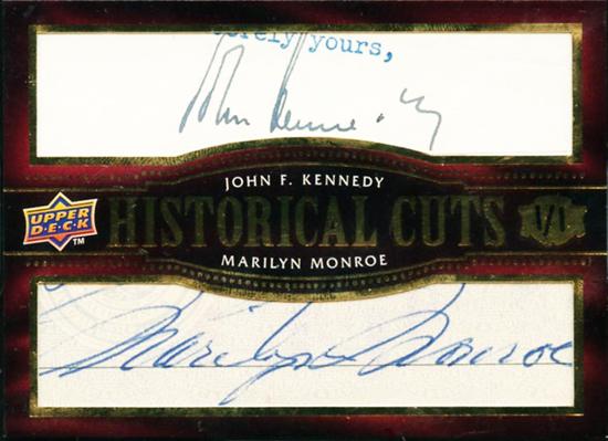 Collecting-John-Fitzgerald-Kennedy-JFK-SP-Legendary-Cuts-Historical-Mariyn-Monroe