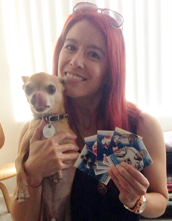2014-Upper-Deck-National-Hockey-Card-Day-Girl-Dog-Collector