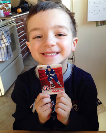 2014-Upper-Deck-National-Hockey-Card-Day-Kids-Happy-Holding-Rielly-Autograph
