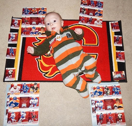 2014-Upper-Deck-National-Hockey-Card-Day-Small-Flames-Fan