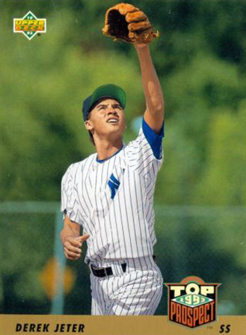 1993-Upper-Deck-Derek-Jeter-Rookie-Baseball-Yankees-Card-449