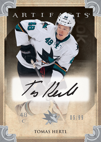2013-14-NHL-Upper-Deck-Artifacts-Redeemed-Rookie-Redemption-Autograph-Tomas-Hertl