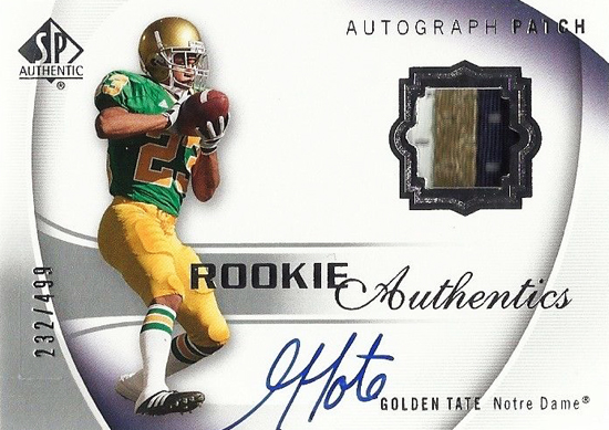 Seattle-Seahawks-2010-SP--Authentic-Autograph-Rookie-Patch-Golden-Tate