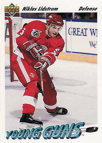 Upper-Deck-25th-Anniversary-Collector-Memories-91-92-Nicklas-Lidstrom-Young-Guns-Rookie