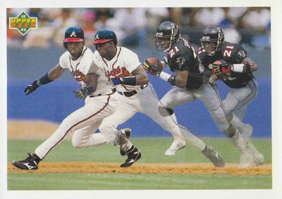Upper-Deck-25th-Anniversary-Collector-Memories-Deion-Sanders-SP3-Football-Baseball