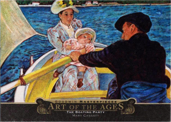 2014-Upper-Deck-Goodwin-Champions-Art-of-the-Ages-Mary-Cassatt-The-Boating-Party