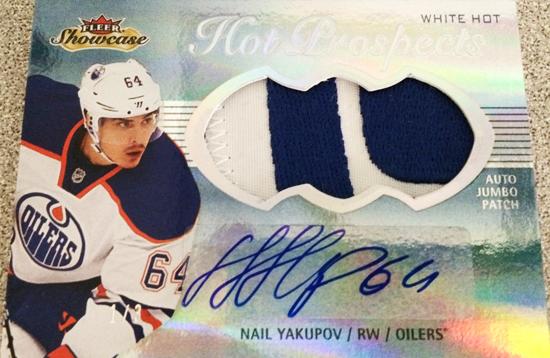 2013-14-NHL-Fleer-Showcase-Hot-Prospects-Jumbo-Autograph-Patch-Nail-Yakupov