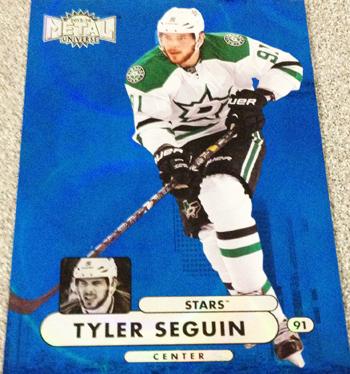 2013-14-NHL-Fleer-Showcase-Precious-Metal-Gems-Tyler-Seguin