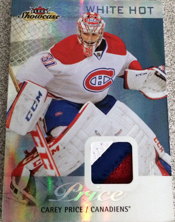 2013-14-NHL-Fleer-Showcase-White-Hot-Patch-Parallel-Carey-Price