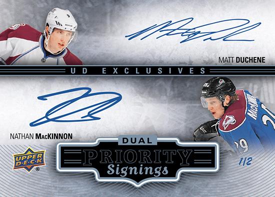2014-NHL-Upper-Deck-Spring-Expo-Priority-Signings-Autograph-Case-Breaker-MacKinnon-Duchene