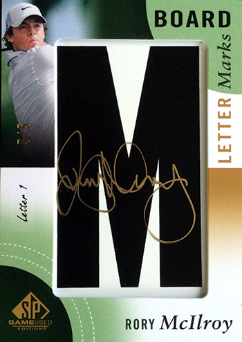 2014-SP-Game-Used-Golf-Leaderboard-Letter-Marks-Rory-McIlroy-M