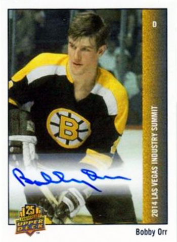 2014-Spring-Expo-Industry-Summit-Free-Raffle-Bobby-Orr-Giveaway-A-Day-Upper-Deck