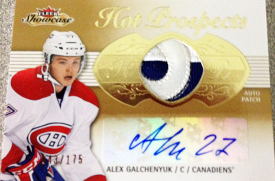 Upper-Deck-2013-14-NHL-Fleer-Showcase-Autograph-Rookie-Patch-Card-Alex-Galchenyuk-043