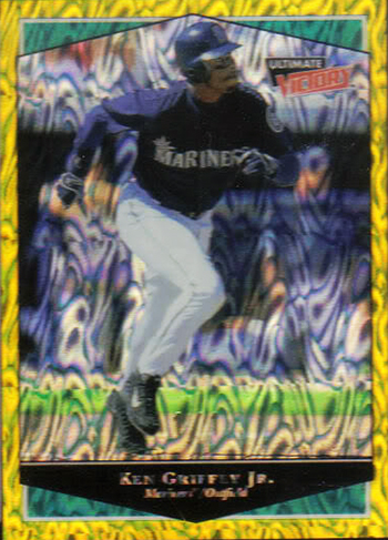 Upper-Deck-Ken-Griffey-Jr-Super-Collector-Michael-Doffing-Magicpapa-Magical-Ultimate-Victory-Rare-Parallel
