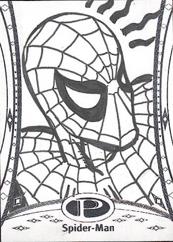 2014-Marvel-Premier-Upper-Deck-Neal-Adams-Spiderman-Sketch-Card