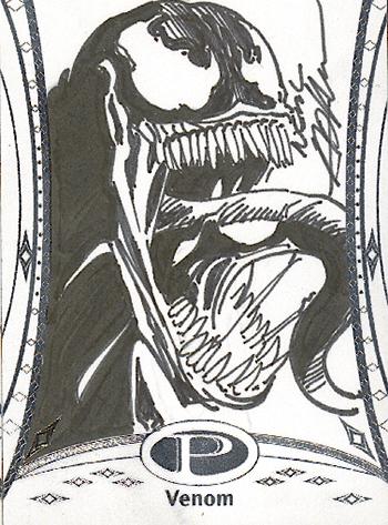 2014-Marvel-Premier-Upper-Deck-Neal-Adams-Venom-Sketch-Card