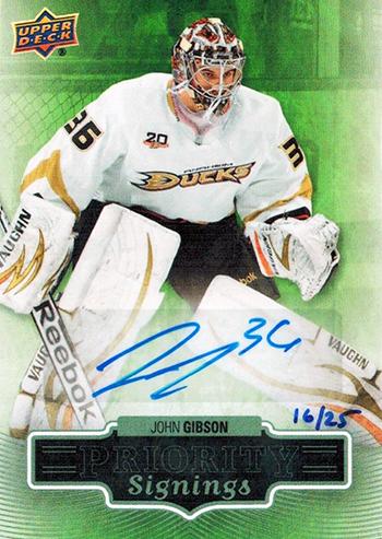 John-Gibson-Anaheim-Ducks-Goalie-Rookie-2013-14-Upper-Deck-Priority-Signings-Autograph