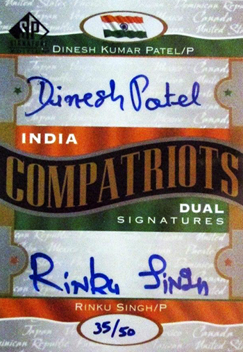 Millions-Dollar-Arm-Dinesh-Kumar-Patel-Upper-Deck-2012-SP-Signature-Edition-Autograph-Compatriots-Card