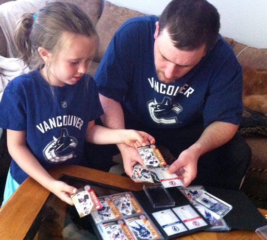 fathers day upper deck cards