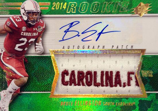 2014-SPx-Football-Autograph-Rookie-Patch-Bruce-Ellington