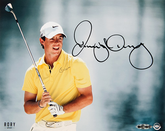 Group-Gift-Idea-Boss-Co-Worker-Golf-Fan-Sports-Rory-McIlroy-Upper-Deck-Authenticated-Autographed-Photo-Waterfront