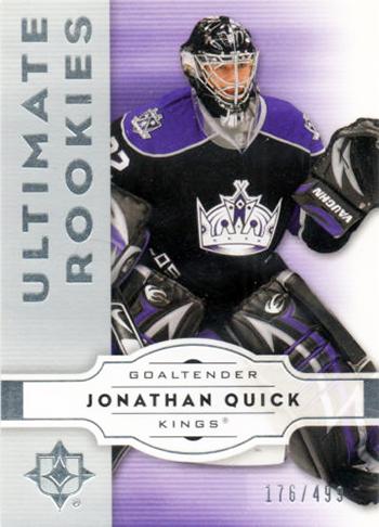 Los-Angeles-Kings-Blog-Ultimate-Upper-Deck-Rookie-Card-Jonathan-Quick