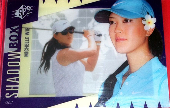 Michelle-Wie-Upper-Deck-Golf-Trading-Card-Rookie-2011-SPx-Shadow-Box-XRC