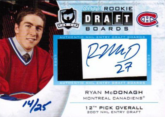 Rangers-Stanley-Cup-Top-Players-Ryan-McDonagh-Rookie-Autograph-Draft-Board