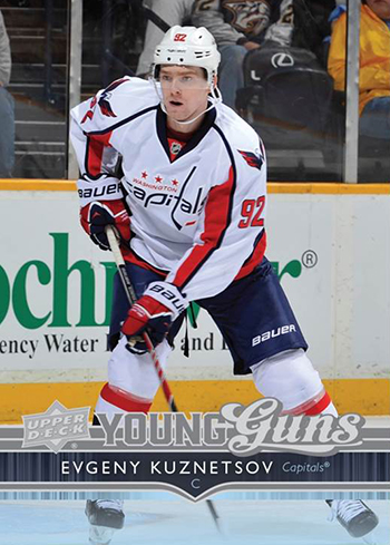 2014-15-NHL-Upper-Deck-Series-One-Young-Guns-Evgeny-Kuznetsov