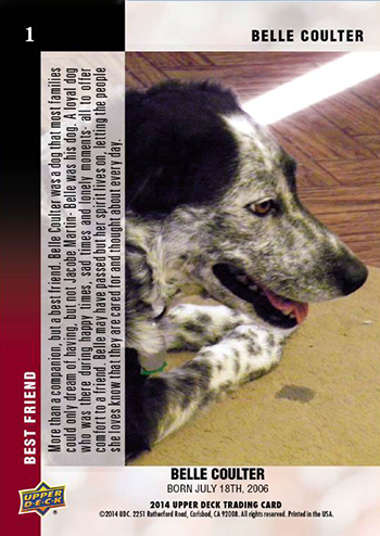 2014-Upper-Deck-Mans-Best-Friend-Card-Jacobe-Martin-Belle-Back
