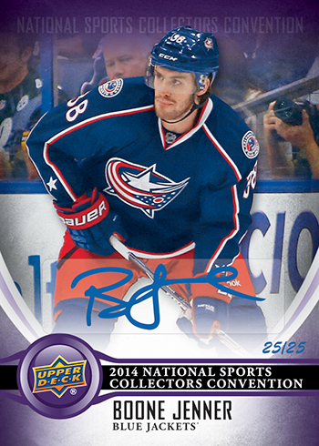 2014-Upper-Deck-National-Sports-Collectors-Convention-Wrapper-Redemption-Autograph-Boone-Jenner