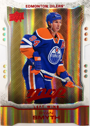 LIVE-2014-15-NHL-Upper-Deck-MVP-Colors-and-Contours-level-2-Gold-Die-Cut-Ryan-Smyth