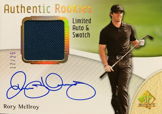 Rory-McIlroy-Golf-Collectibles-Card-Rookie-Best-2014-SP-Autograph-Autograph-Patch-Rookies