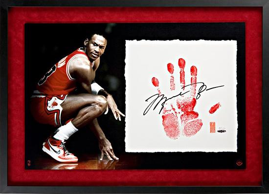 Tegata-Upper-Deck-Authenticated-Autograph-Hand-Print-Michael-Jordan