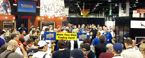 Upper-Deck-Booth-National-Sports-Collectors-Convention-Raffle-Huge-Crowd-1