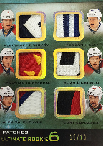 2013-14-NHL-Upper-Deck-Ultimate-Collection-Ultimate-6-Rookie-Patch-Double-Class-2
