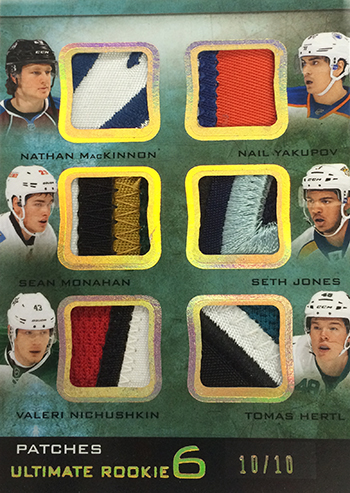 2013-14-NHL-Upper-Deck-Ultimate-Collection-Ultimate-6-Rookie-Patch-Double-Class