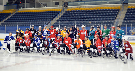 2014-NHLPA-Rookie-Showcase-Upper-Deck-Group-Shot